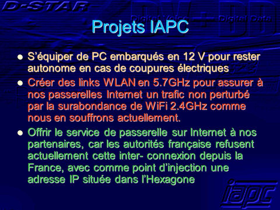 Projets IAPC Séquiper de PC embarqués en 12 V pour rester autonome en cas de coupures électriques Séquiper de PC embarqués en 12 V pour rester autonom