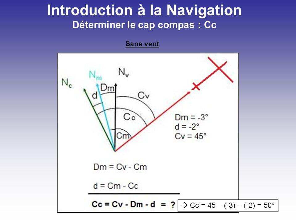 Introduction à la Navigation Calculer la TAS sur base de lIAS Il est intéressant de calculer votre TAS pour estimer le temps de passage au-dessus du way-point suivant.