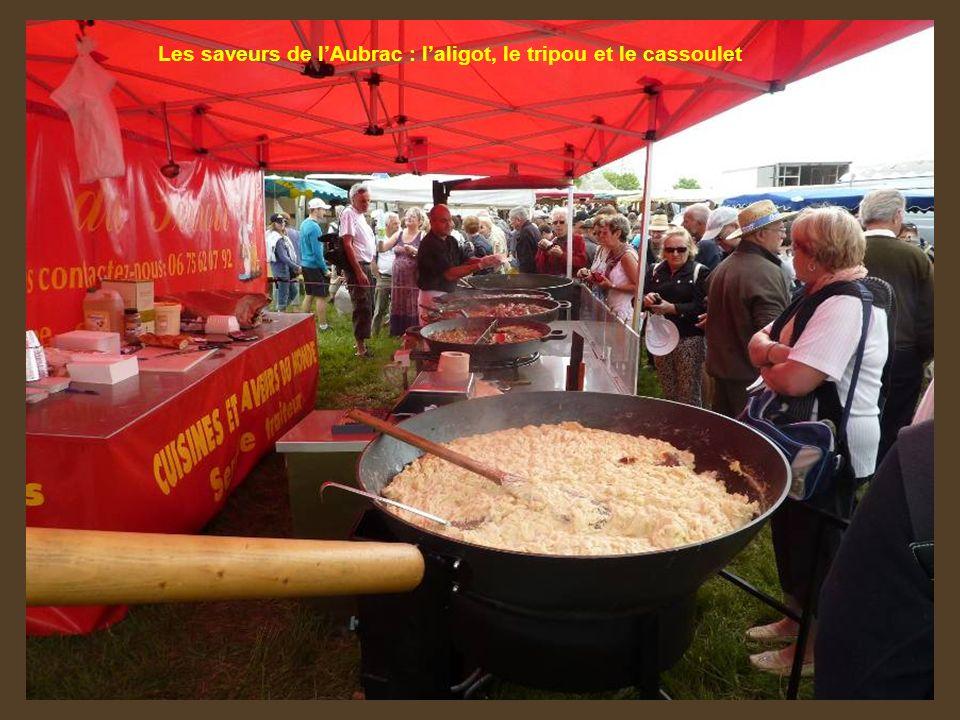 Les saveurs de lAubrac : laligot, le tripou et le cassoulet