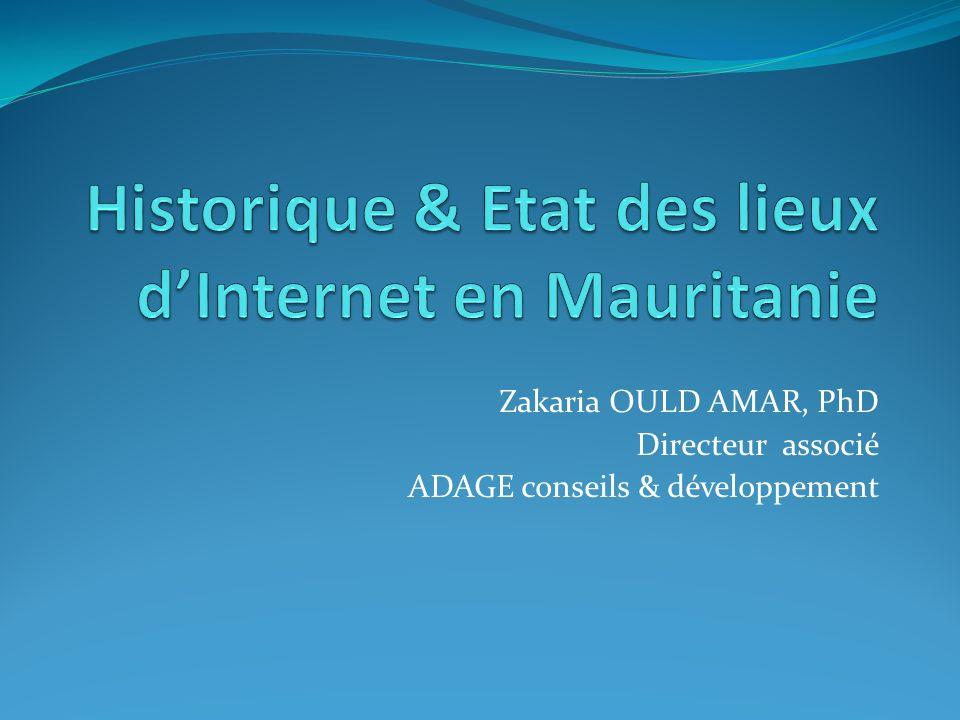 Zakaria OULD AMAR, PhD Directeur associé ADAGE conseils & développement