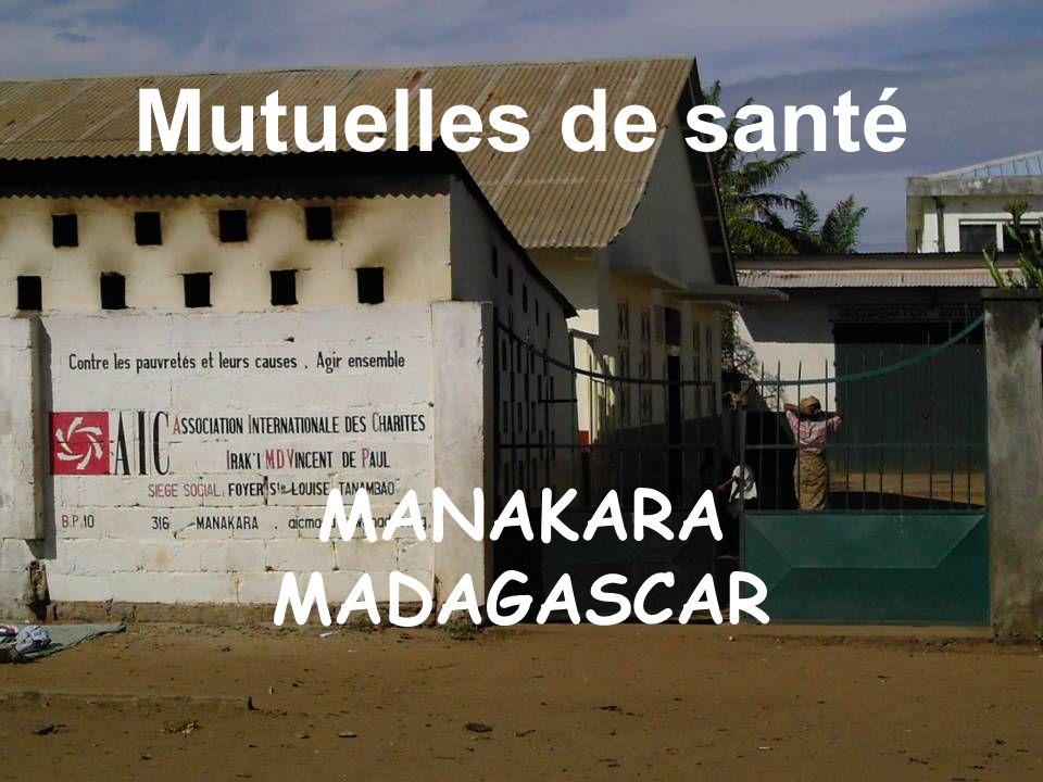 Mutuelles de santé MANAKARA MADAGASCAR