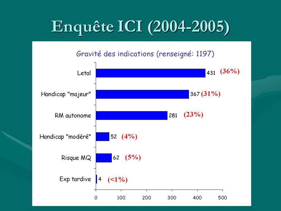 Enquête ICI (2004-2005)