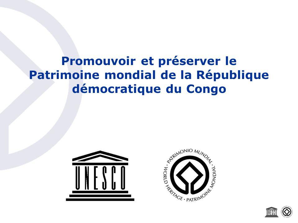 Promouvoir et préserver le Patrimoine mondial de la République démocratique du Congo