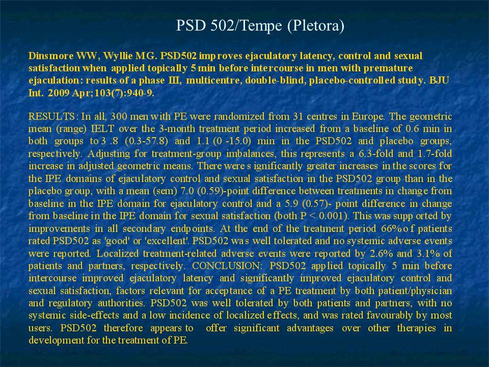 PSD 502/Tempe (Pletora)
