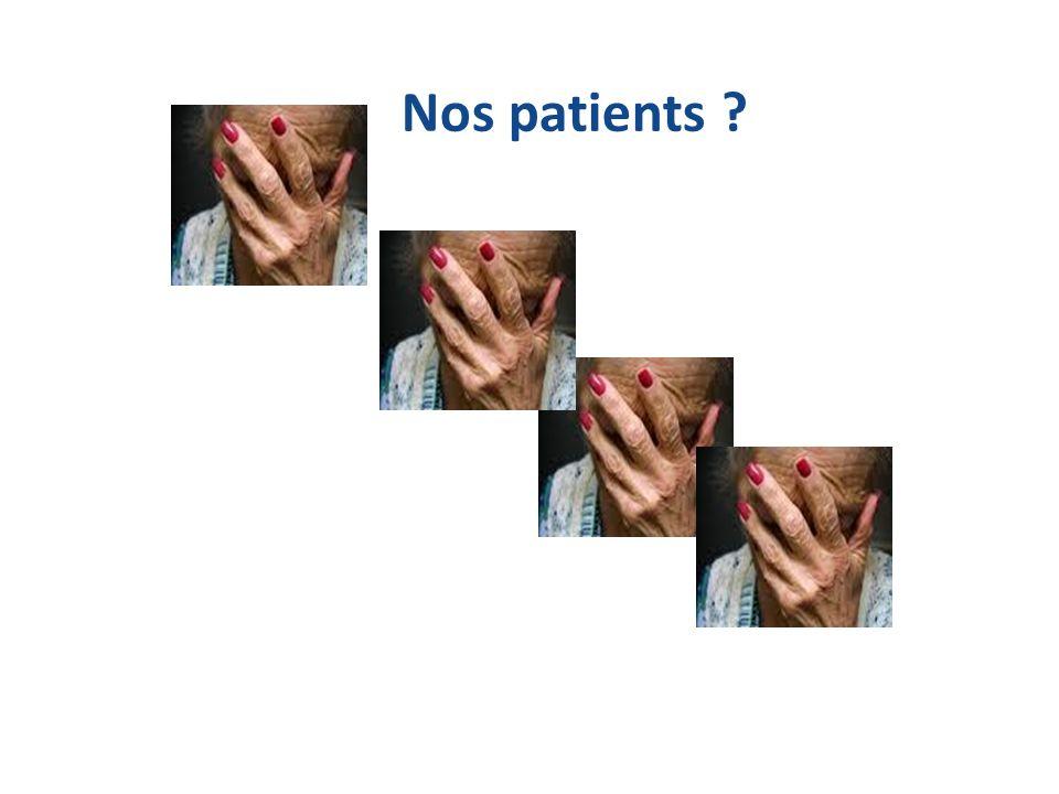 Nos patients ?