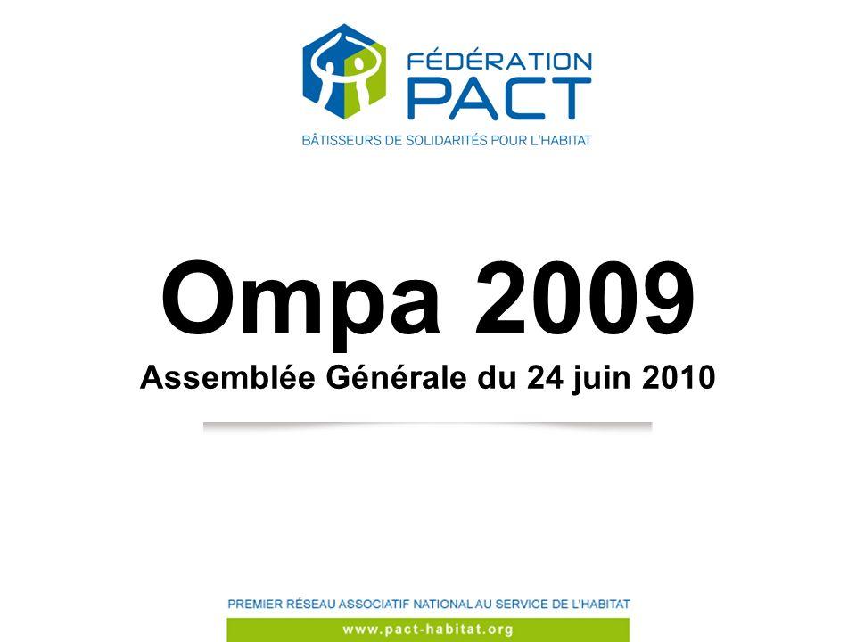 Ompa 2009 Assemblée Générale du 24 juin 2010