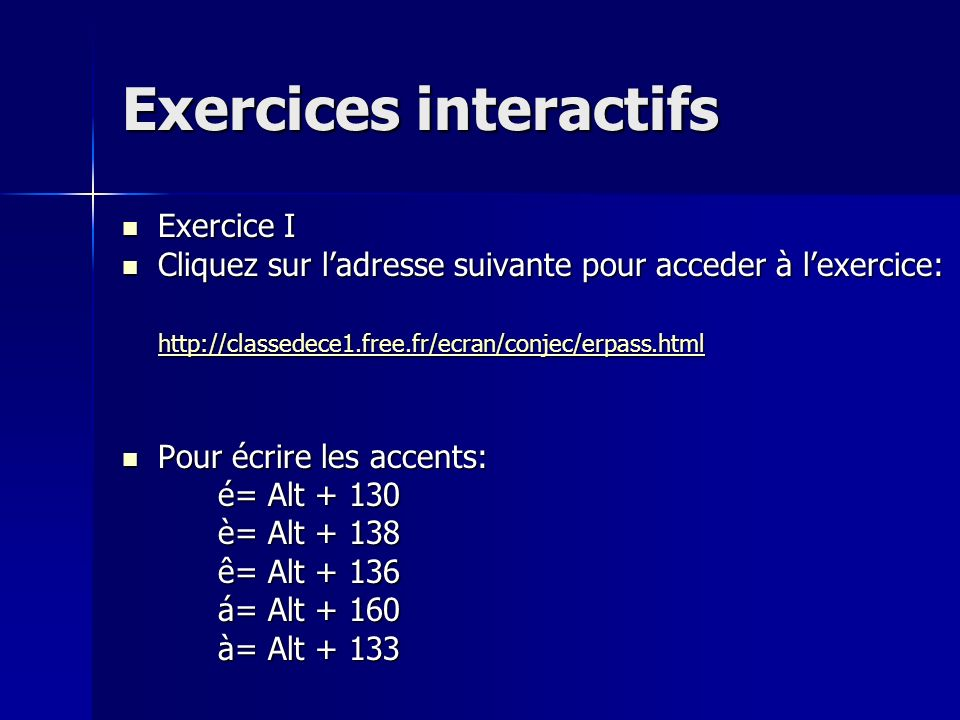 Remarquez… Pour la formation du participe passé dun verbe du premier groupe (-er) vous allez: 1. E liminer le r final 2. R ajouter un accent aigu sur