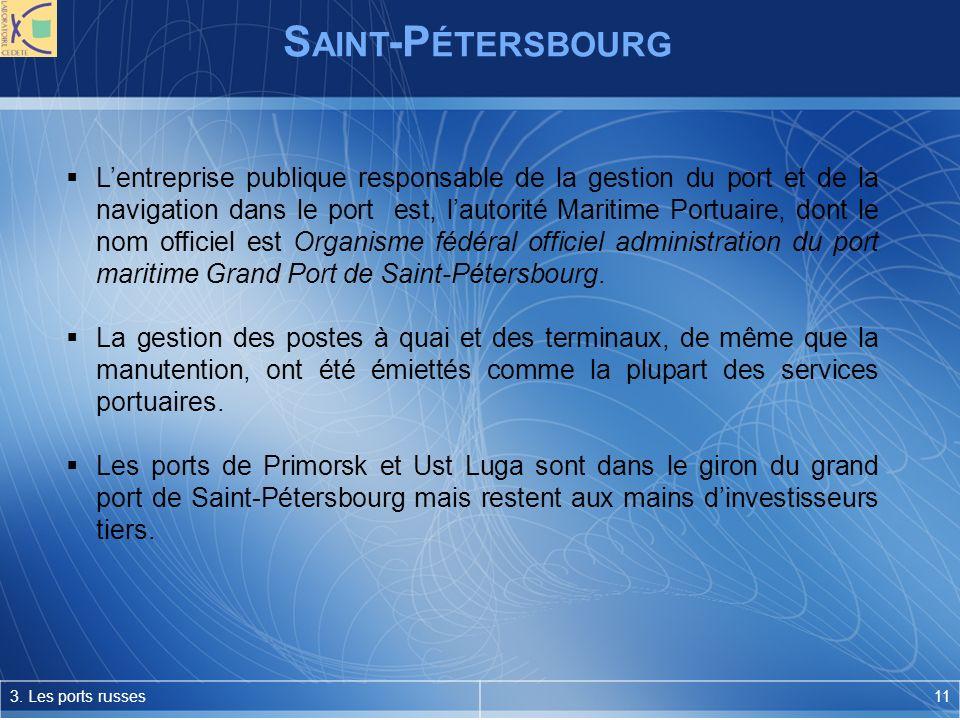 S AINT -P ÉTERSBOURG 3.
