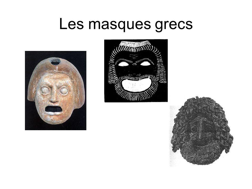 Le Masque Ce qui reste commun aux deux traditions cest le port du masque.