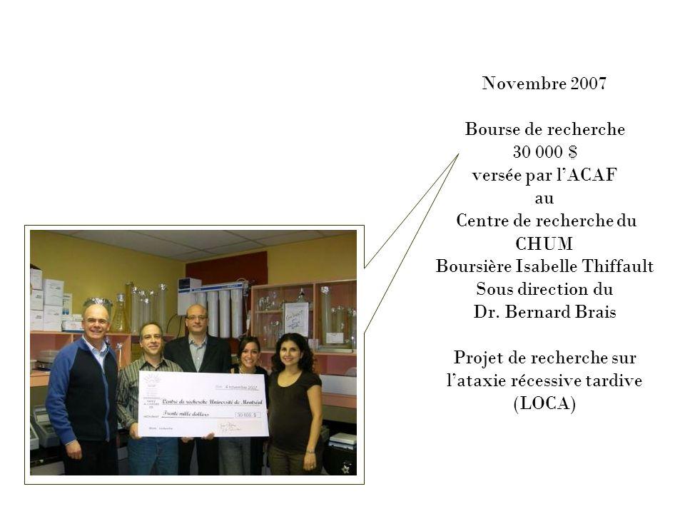 Décembre 2007 Spectacle-bénéfice de Richard Abel à Saint-Eustache Profit 10 000 $