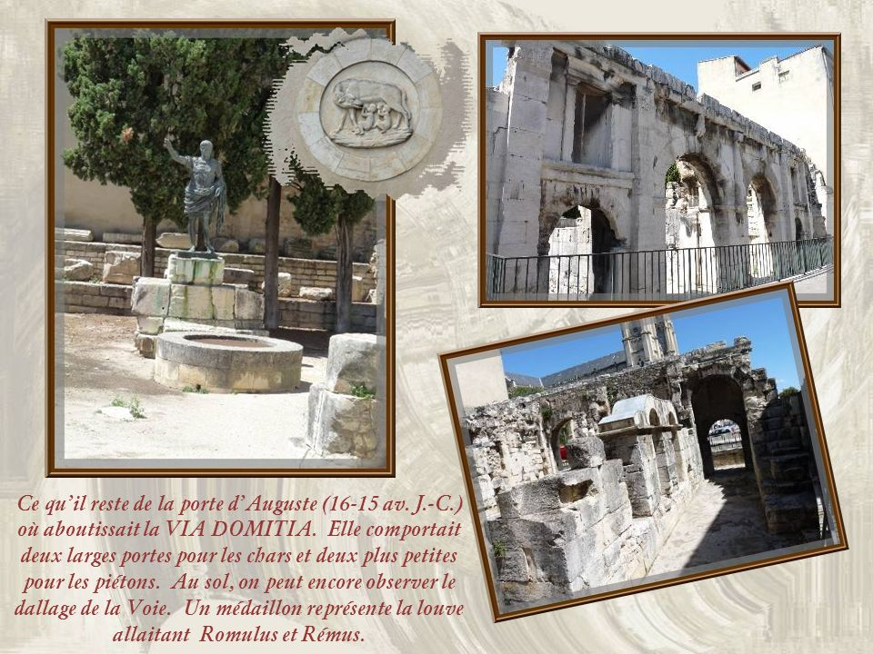 Léglise Saint-Baudile a été construite en 1877. Elle rappelle le premier apôtre de léglise de Nîmes, au IIIe siècle. Ci-dessous, lUniversité de Nîmes