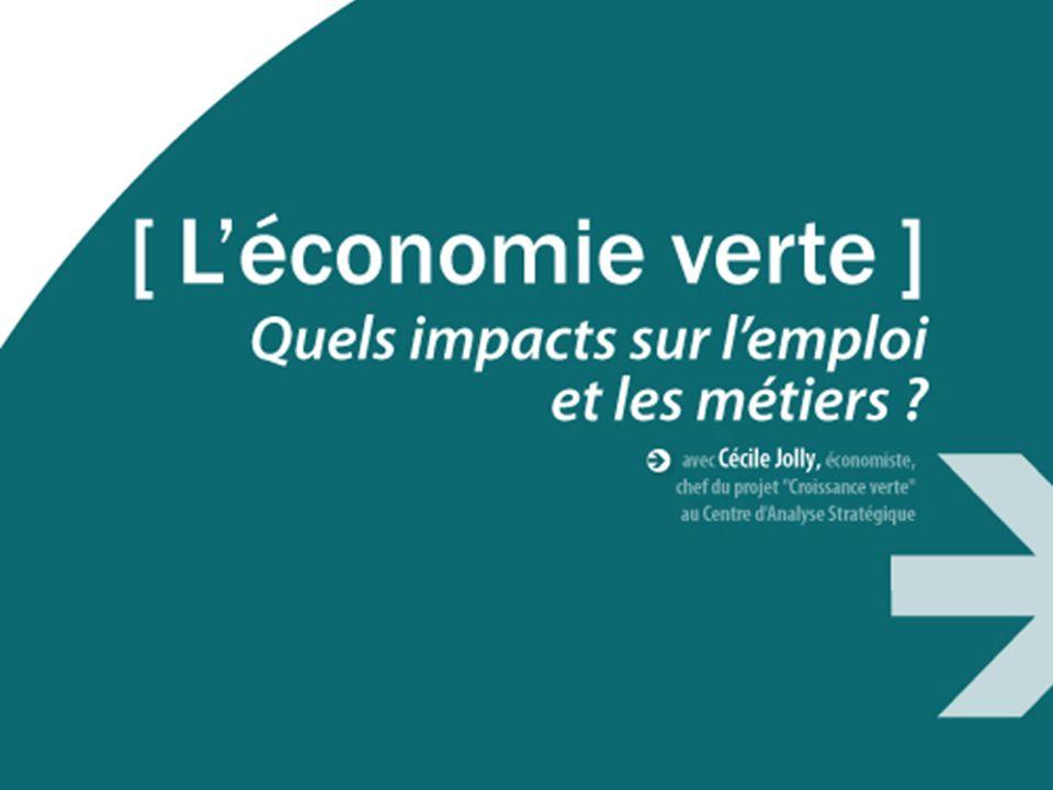 PREMIER MINISTRE www.strategie.gouv.fr Séminaire croissance verte Marseille - mercredi 10 novembre 2010 Léconomie verte : quels impacts sur lemploi et les métiers ?