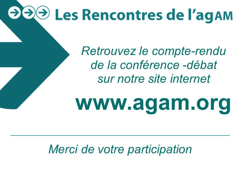 21 PREMIER MINISTRE Séminaire croissance verte Marseille - mercredi 10 novembre 2010 Retrouvez le compte-rendu de la conférence -débat sur notre site internet www.agam.org Merci de votre participation