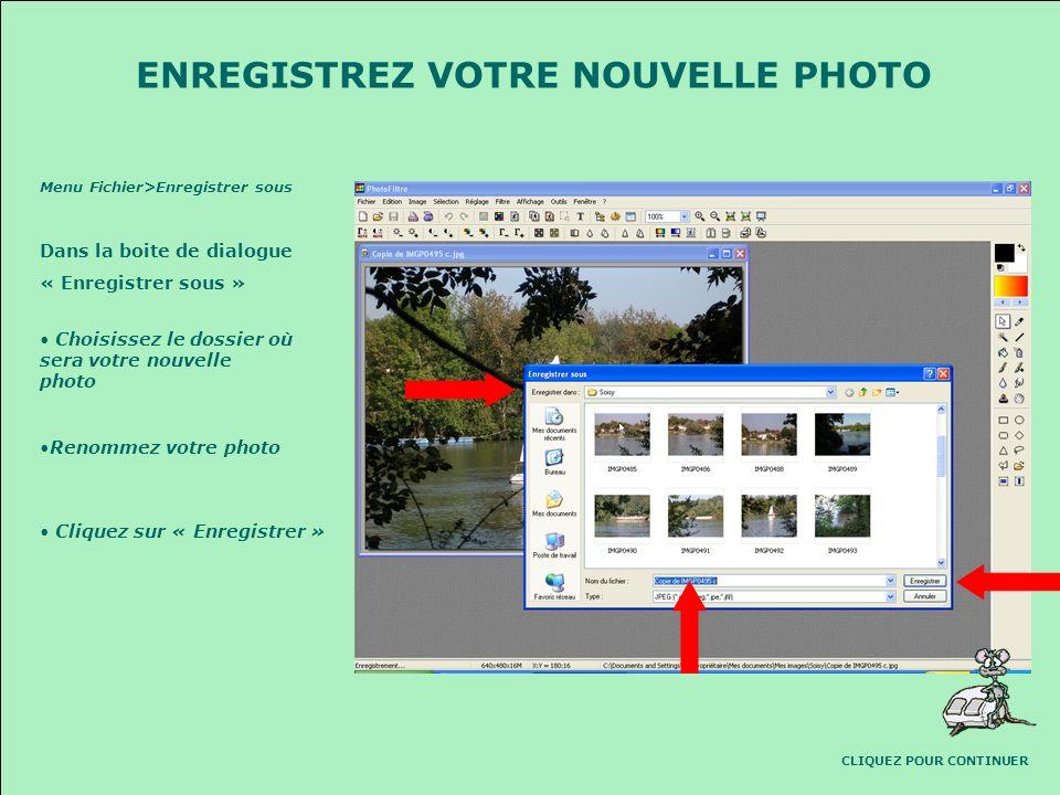 640 480 640480 900Ko La boite de dialogue qui sest ouverte vous permet de régler la nouvelle taille de la photo. Si la case « Conserver les proportion