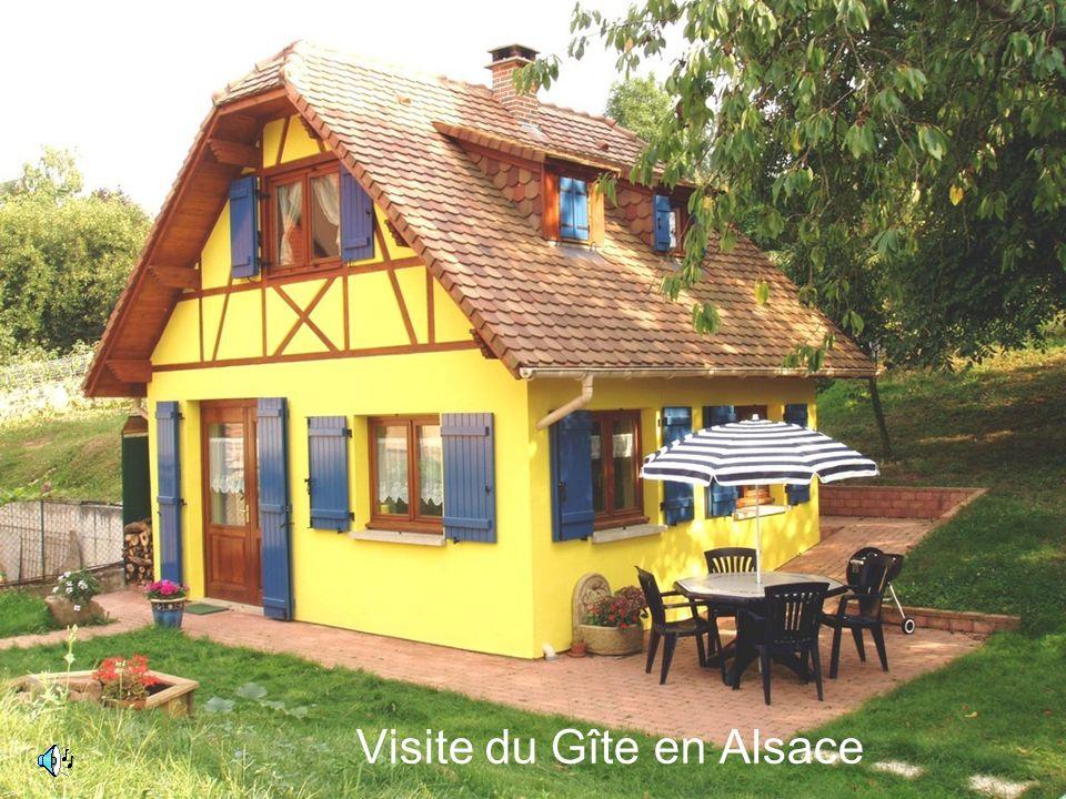 Visite du Gîte en Alsace