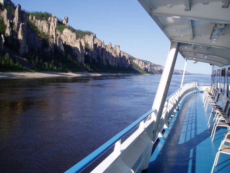 Rivière Lena, près de Yakutsk