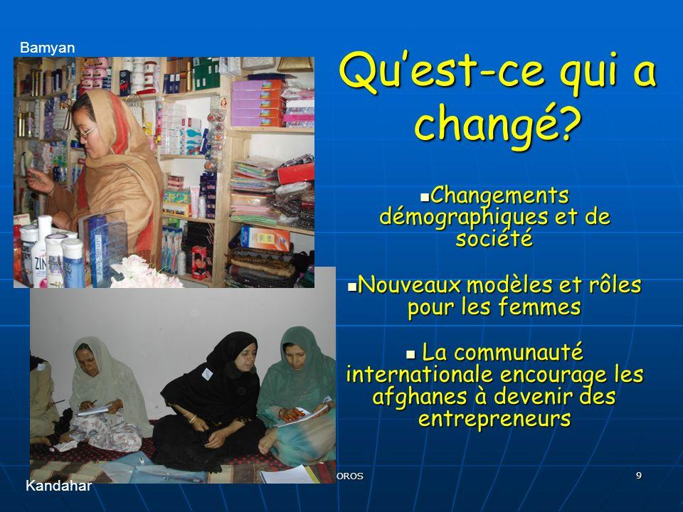 EHESS, 11 décembre 2007 R BOROS 9 Quest-ce qui a changé.