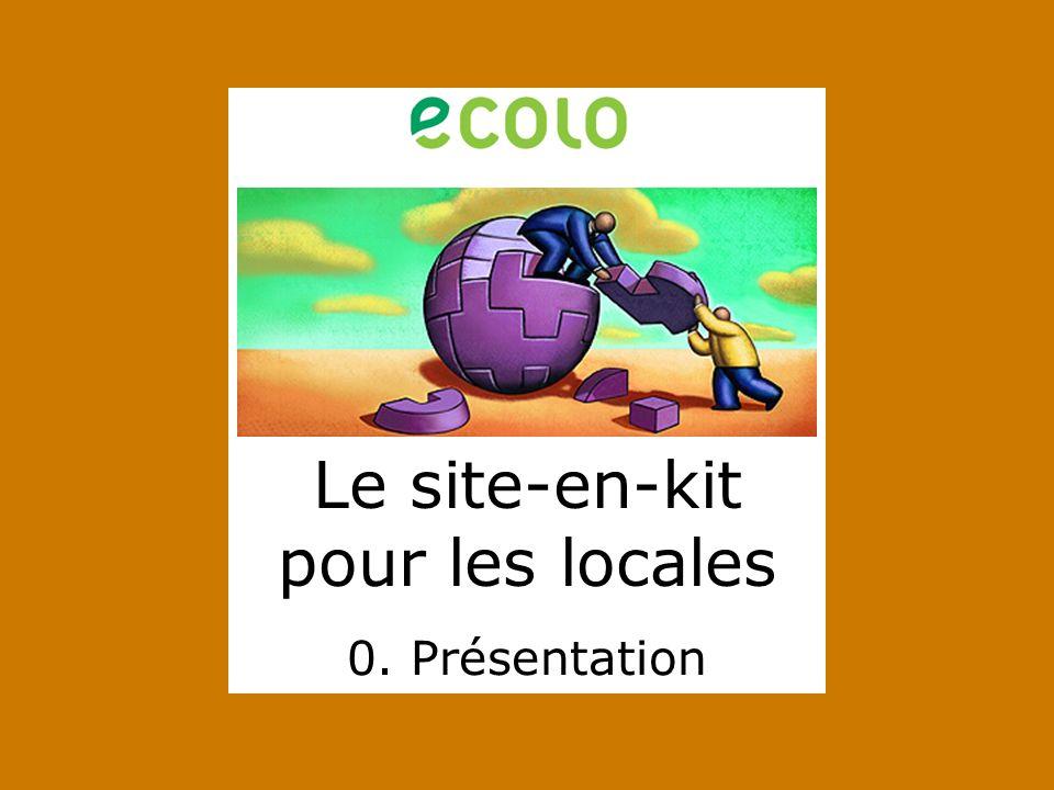 Pour plus dinformations et pour suivre lavancement du projet, une seule adresse : http://www.ecolo.be/locales 7.