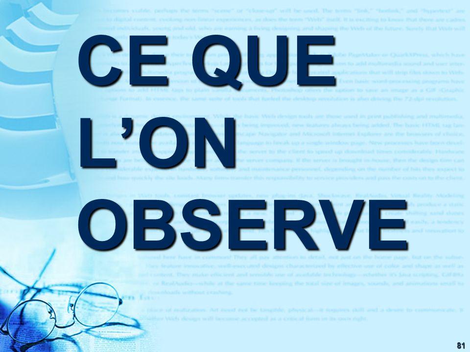 81 CE QUE LON OBSERVE