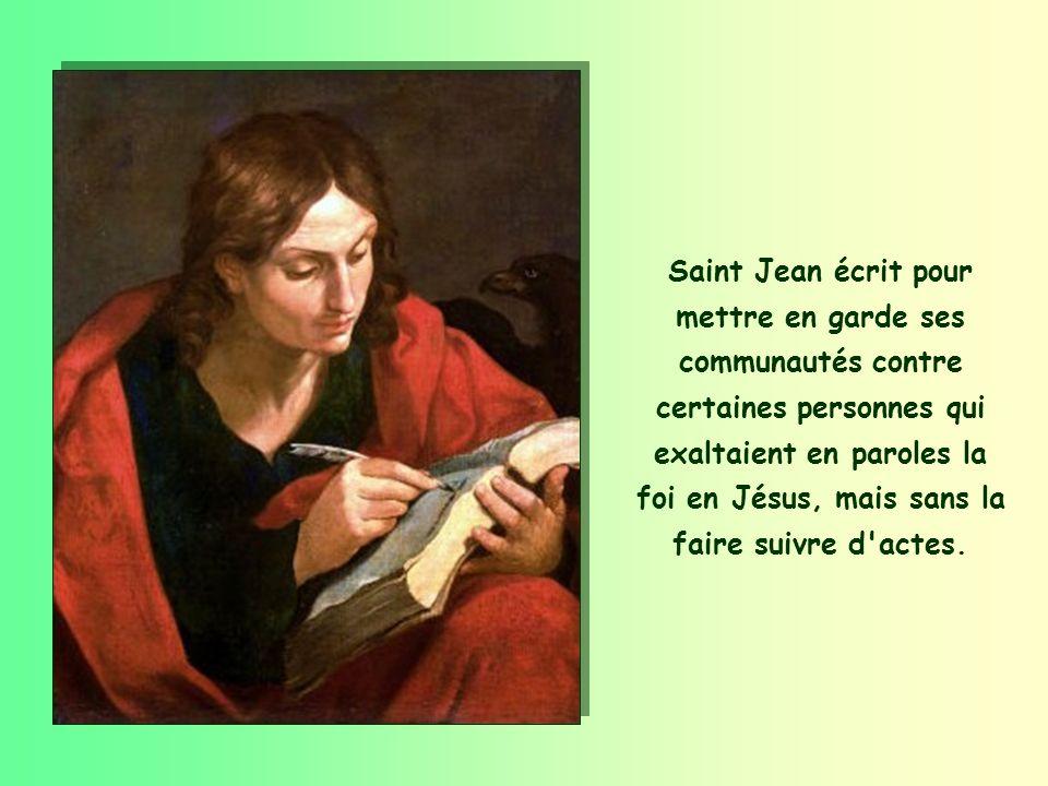« N aimons pas en paroles et de langue, mais en actes et dans la vérité. » (1 Jn 3,18)