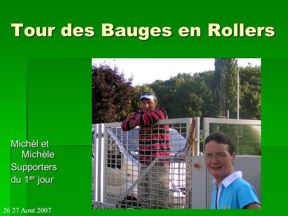 Tour des Bauges en Rollers Pascal a la fameuse tente qui souvre d un clin dœil, mais, pardon; pour la fermer il va falloir sy mettre a plusieurs !!!.