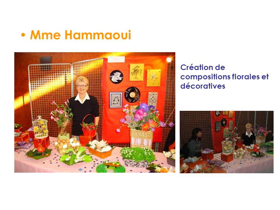 Mme Hammaoui Création de compositions florales et décoratives