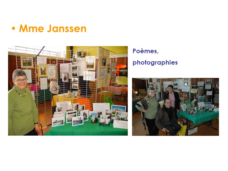 Mme Janssen Poèmes, photographies