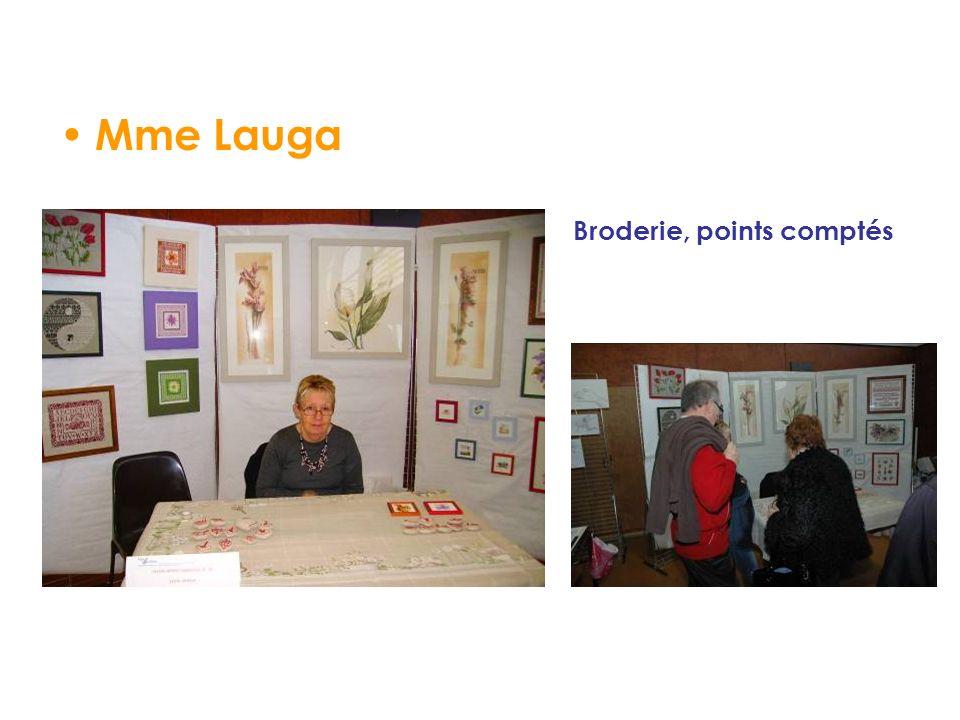 Mme Lauga Broderie, points comptés