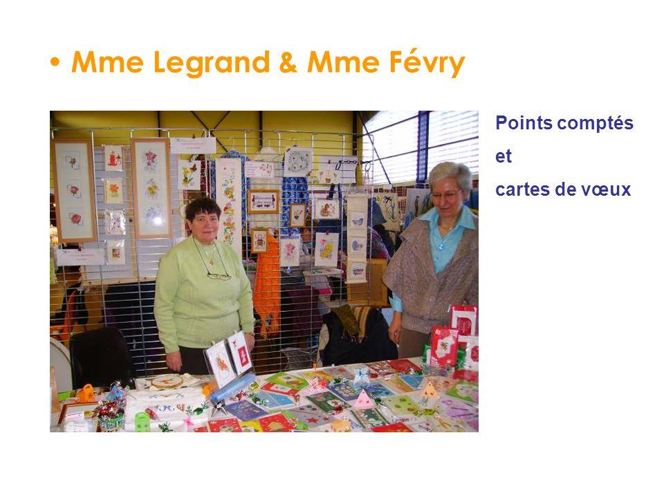 Mme Legrand & Mme Févry Points comptés et cartes de vœux