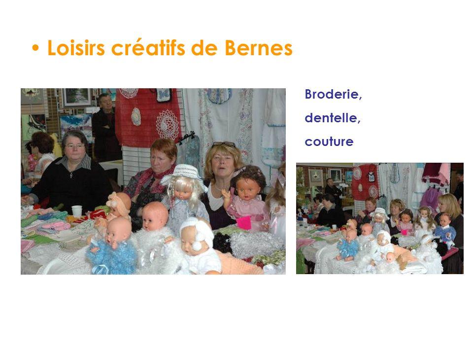 Loisirs créatifs de Bernes Broderie, dentelle, couture