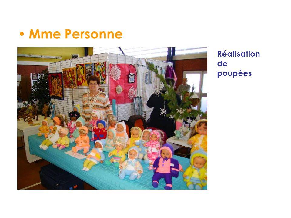 Mme Personne Réalisation de poupées