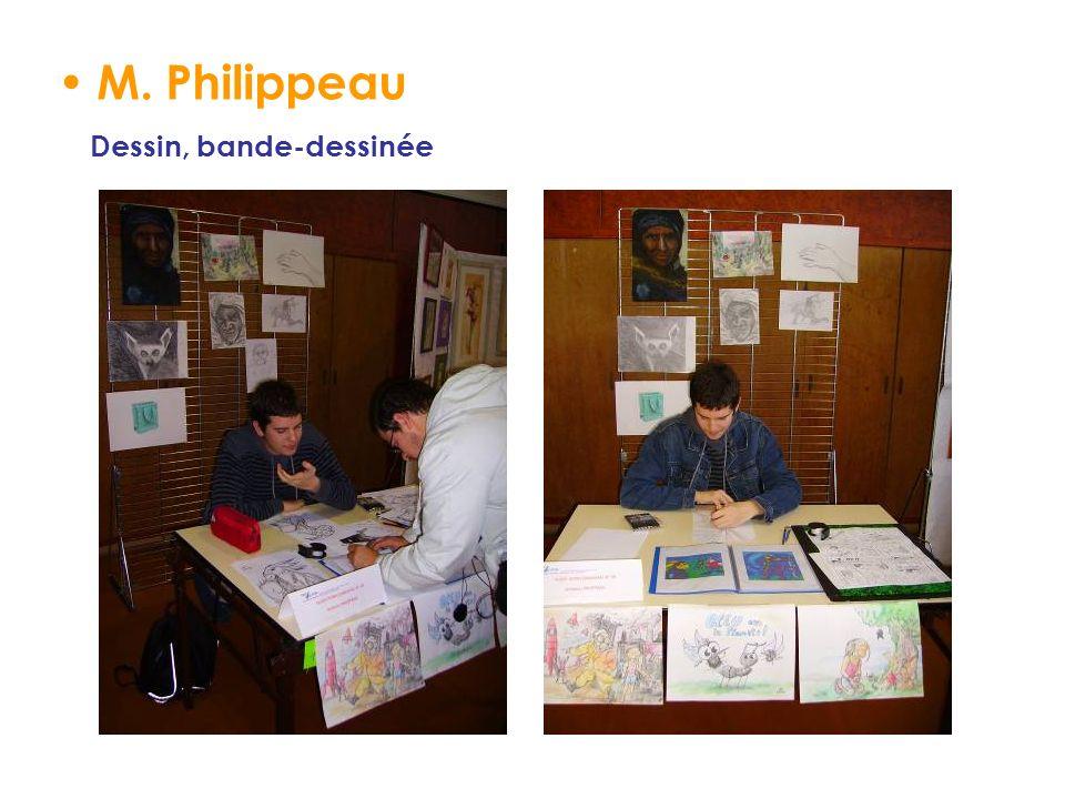 M. Philippeau Dessin, bande-dessinée