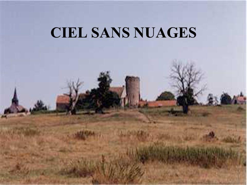 NUAGES EN HAUTEUR PLUIES FORTES SOUDAINES
