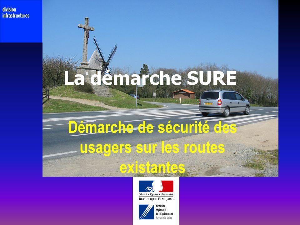 La démarche SURE Démarche de sécurité des usagers sur les routes existantes
