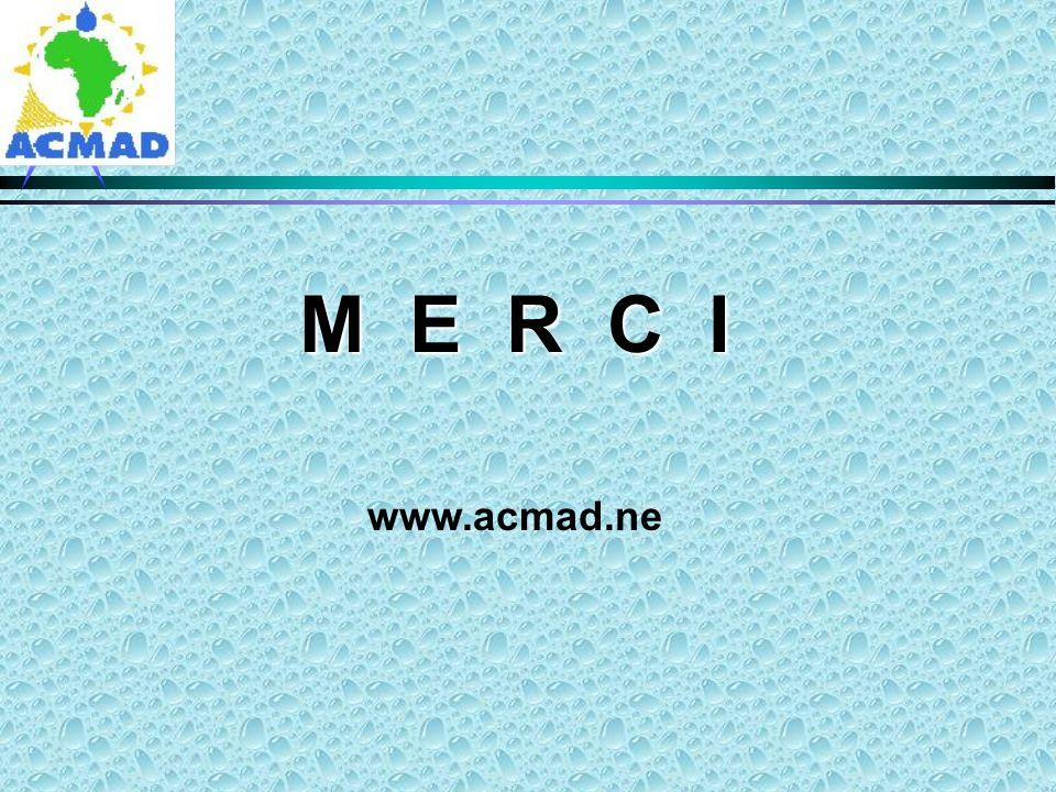 M E R C I www.acmad.ne