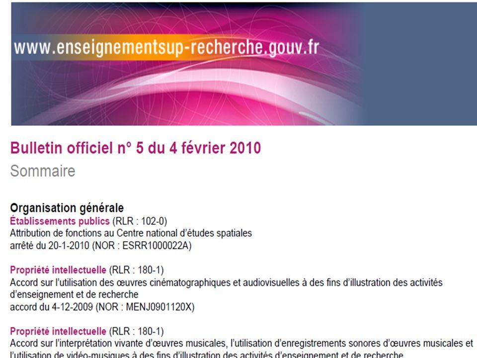 Un droit en évolution Art. L122-5 du code de la propriété intellectuelle Modifié par Loi n°2006-961 du 1 août 2006 - art. 1 (V) JORF 3 août 2006Loi n°