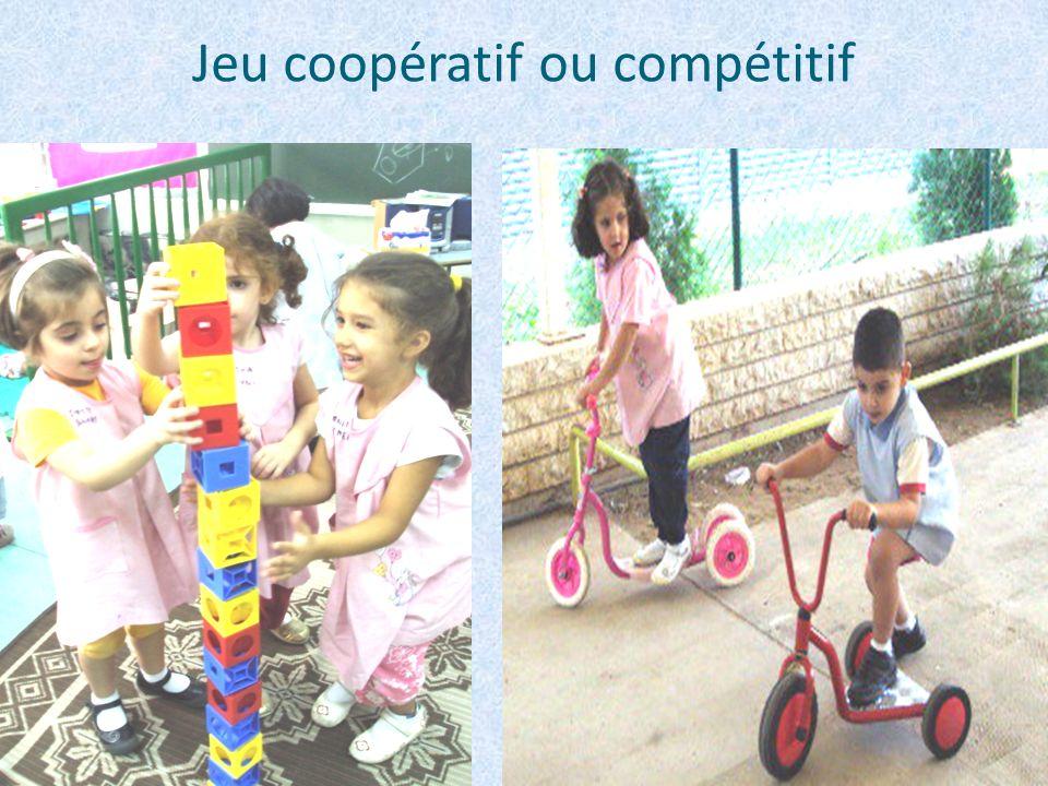 Jeu coopératif ou compétitif