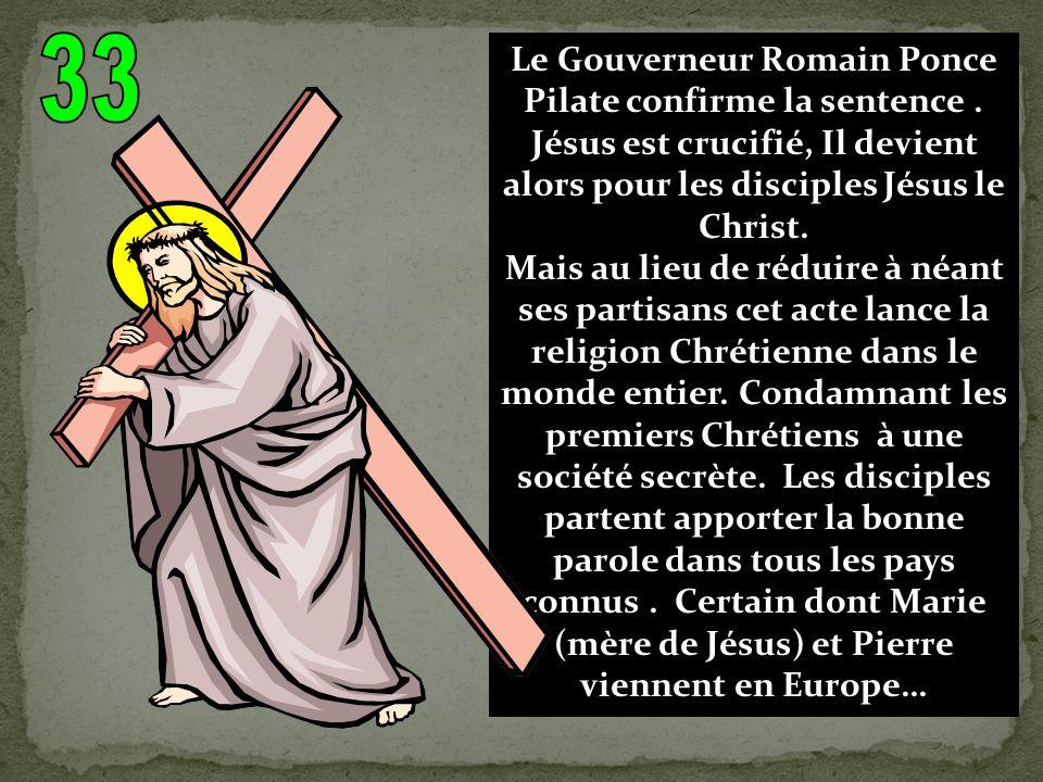 Né en +1 dans des conditions très modestes Jésus de Nazareth (en Palestine) devient rapidement un « trouble fait » dans lempire romain, où on lui prête miracles et ascendance divine.