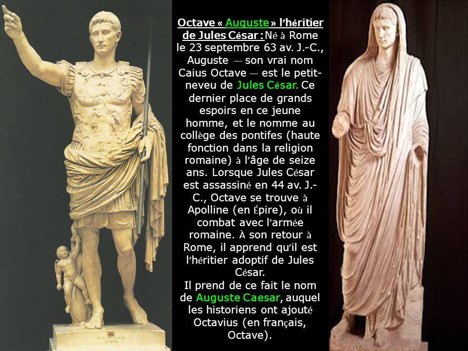 Caïus Julius Caesar Assassinat de César 15 mars en 44 av. J.-C Brutus lun des assassins Rappel