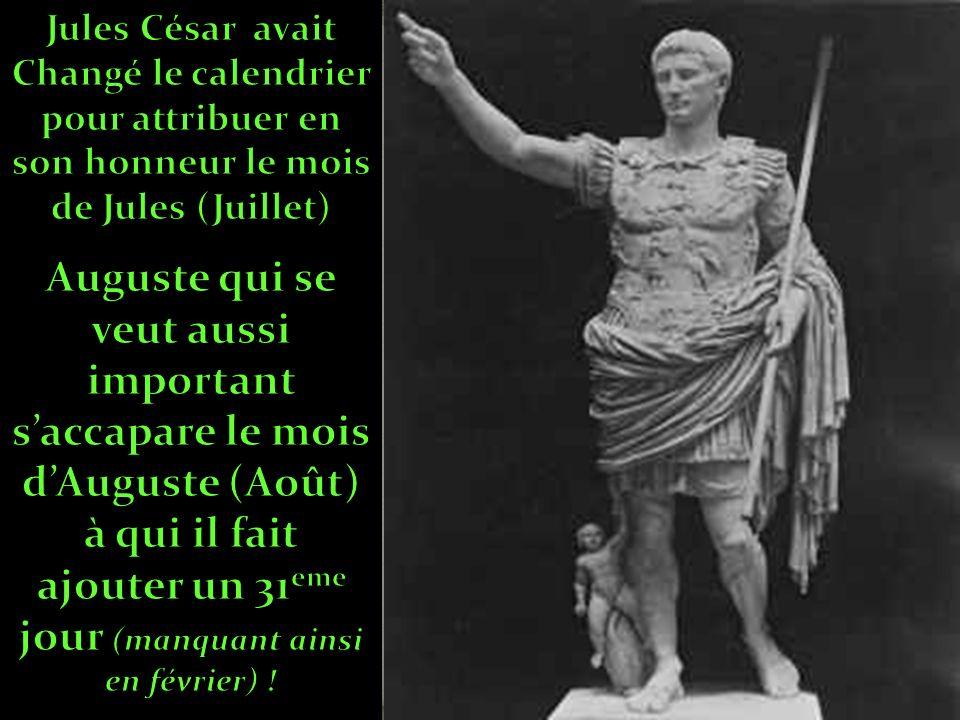 Octave « Auguste » l h é ritier de Jules C é sar :N é à Rome le 23 septembre 63 av.