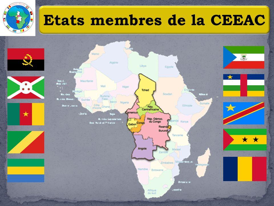 3 Quelques caractéristiques de la CEEAC.Plus de 5,3 millions de Km².
