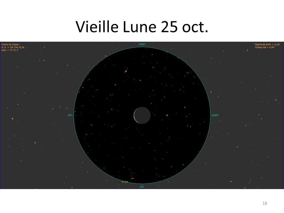 Vieille Lune 25 oct. 18