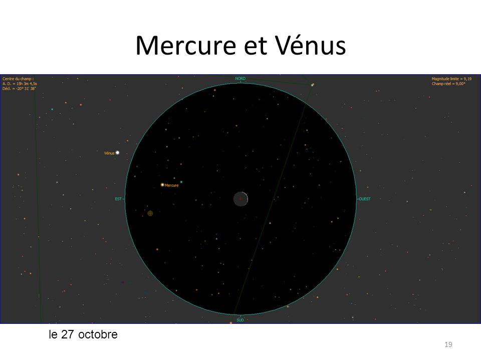 Mercure et Vénus 19 le 27 octobre
