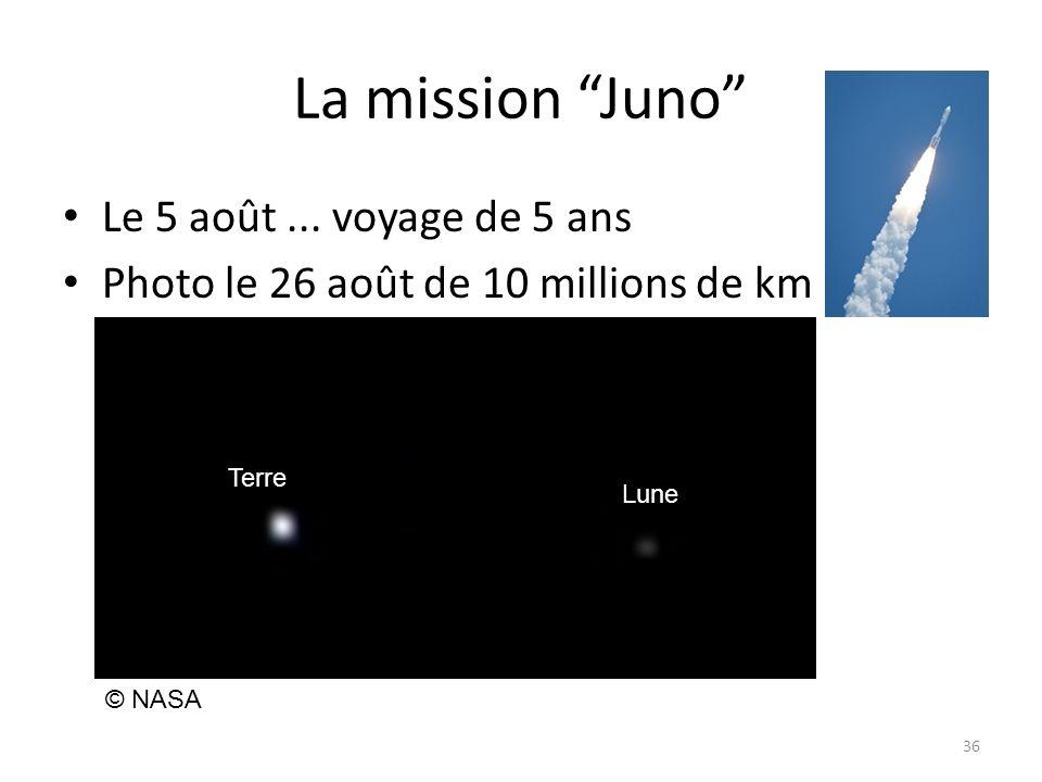 La mission Juno Le 5 août...