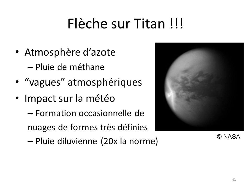Flèche sur Titan !!.