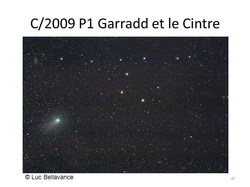 C/2009 P1 Garradd et le Cintre 47 © Luc Bellavance