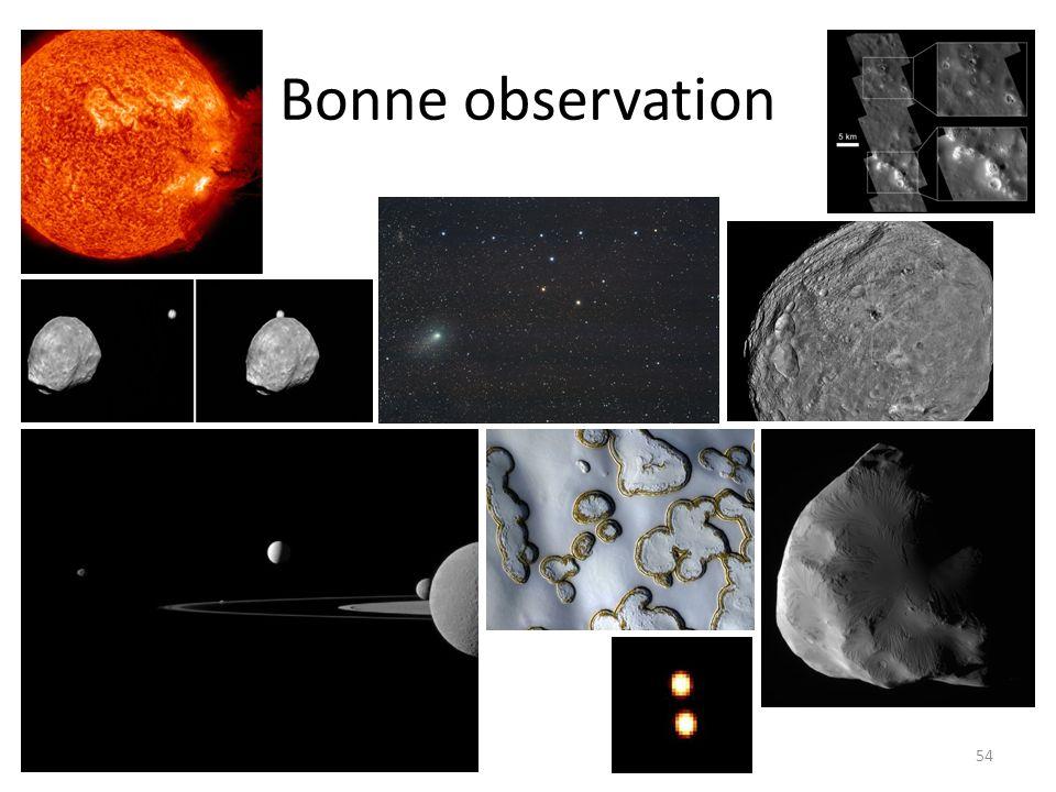 Bonne observation 54