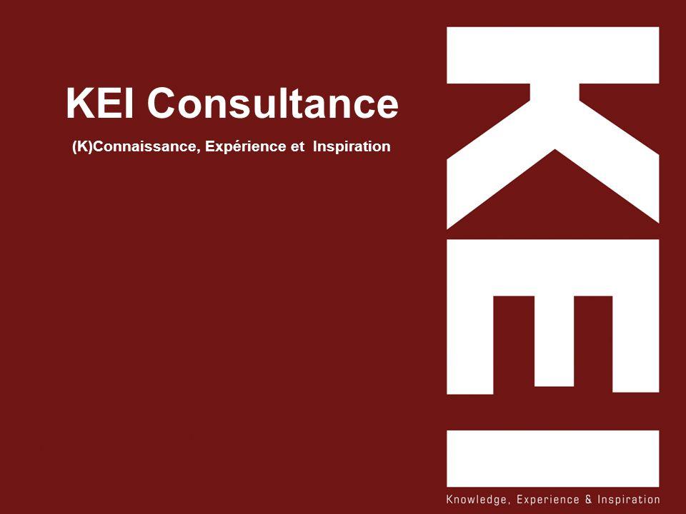 KEI Consultance (K)Connaissance, Expérience et Inspiration