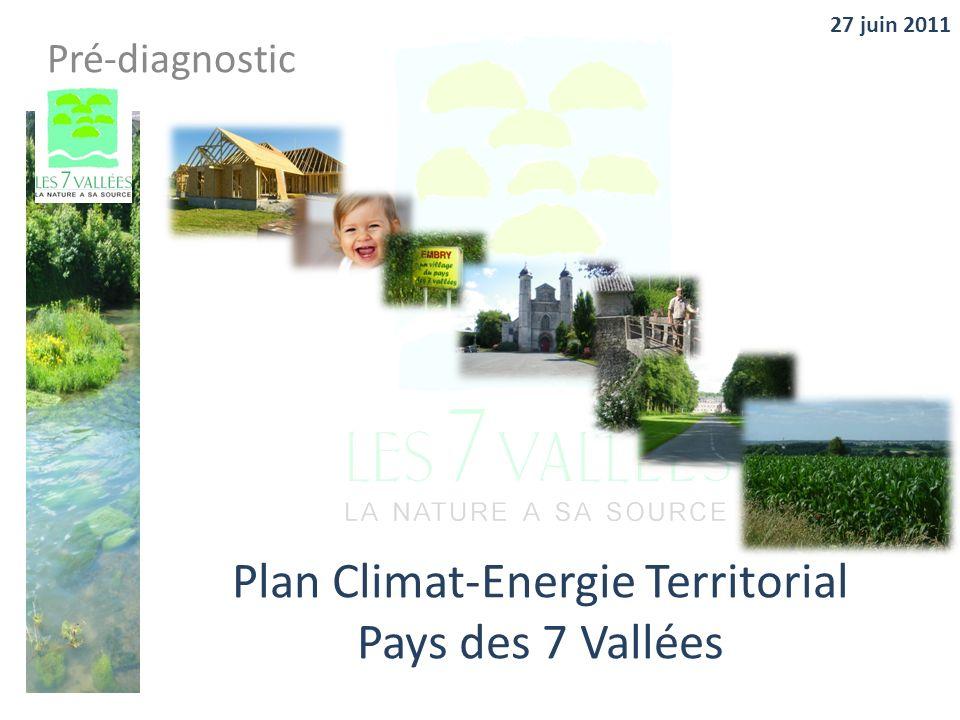 Plan Climat-Energie Territorial Pays des 7 Vallées Pré-diagnostic 27 juin 2011
