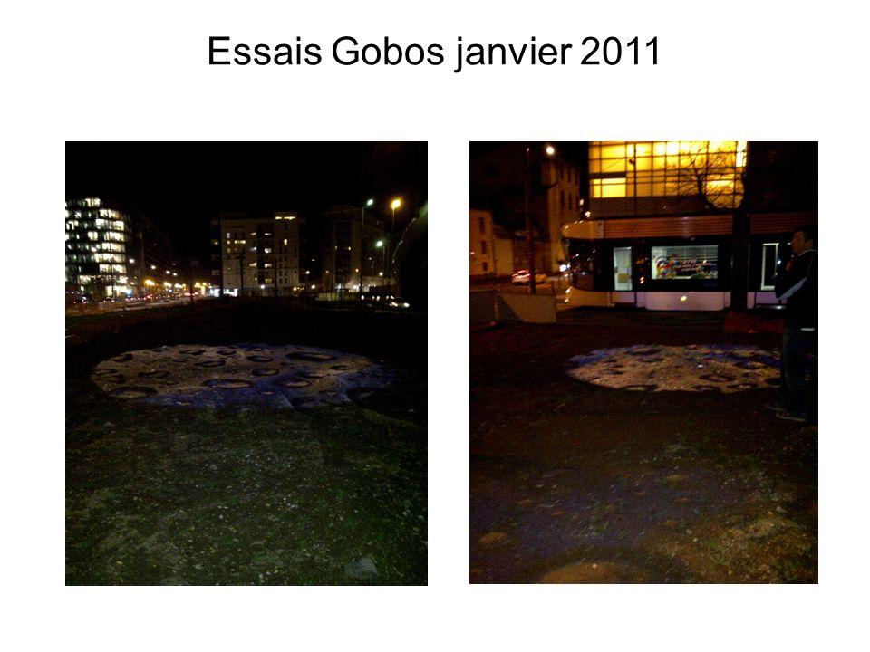 Essais Gobos janvier 2011